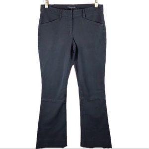 Theory Black Flared Pants